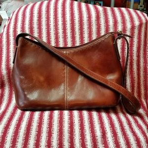EUC Fossil Leather Hobo Bag Purse